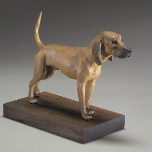 """Red Bone"" - Bronze Sculpture by Jim Gartin 6"" x 4"" x 6""H - L/E -10 - Bronze"
