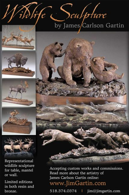 Wildlife Sculpture by Jim Carlson
